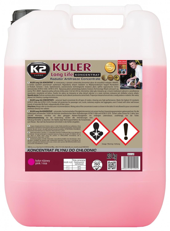 K2 KULER KONCENTRAT RÓŻOWY 20 KG